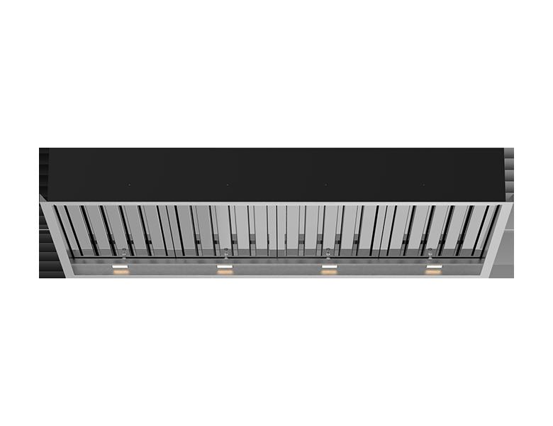 Boston 120 Ceiling Cassette - Stainless Steel Finish
