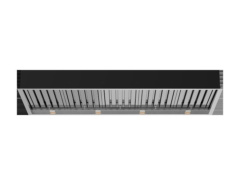 Boston 150 Ceiling Cassette - Stainless Steel Finish
